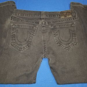 True Religion Rocco Relaxed Skinny Jeans 33X29